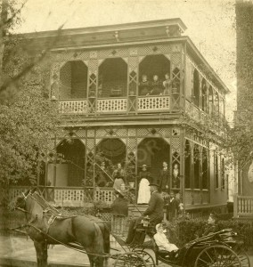 This residence sat on Spring Street between Linden Avenue and Baltimore Place via Atlanta History Center http://bit.ly/1O9cLAn