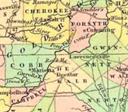 Tanners Map -1834