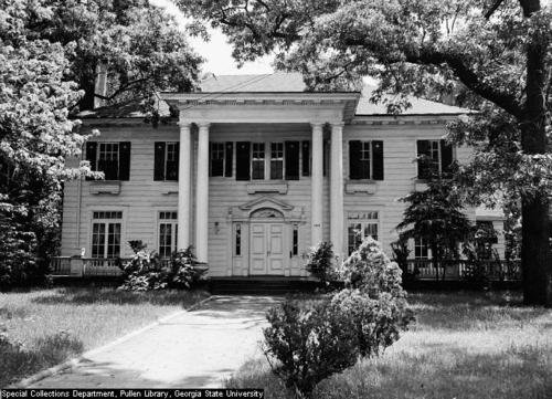 Eugene Mitchell mansion via Georgia State Photo Archive