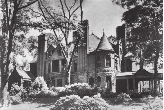 The Silvey-Speer Mansion via Atlanta History Center