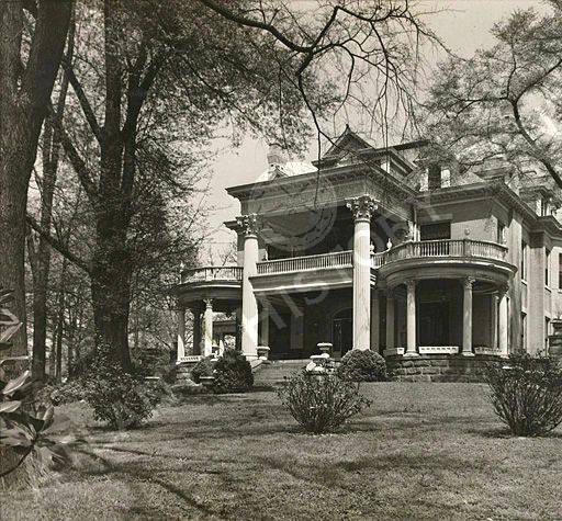 The Murphy home...courtesy of the Atlanta History Center