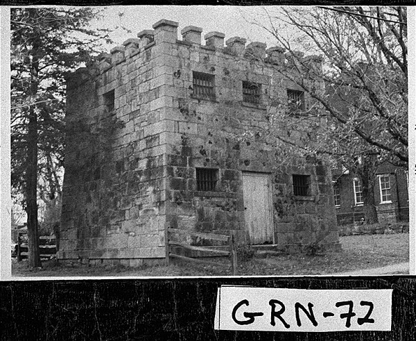 Greene County's first jail (courtesy of Georgia Digital Archives)